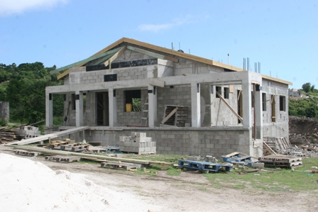 The ultra modern Brown Hill Health Centre under construction