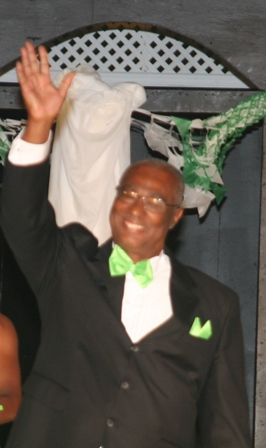 hon. joseph parry at the calypso show1-3-2011