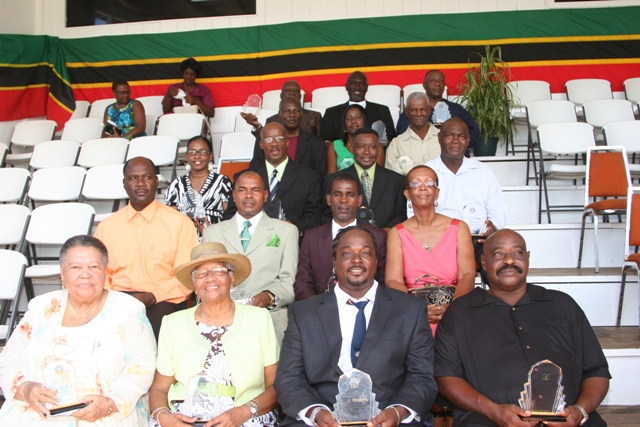 2010 National Awardees in Nevis