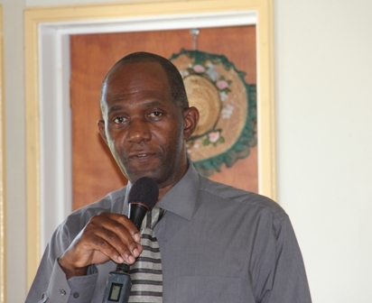 Permanent Secretary in the Ministry of Trade and Industry Mr. Dwight Morton