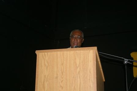Premier of Nevis , Hon. Joseph Parry