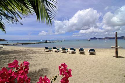 Oualie Beach Hotel in St.James Parish, Nevis