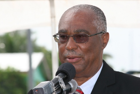 Premier of Nevis and Minister of Tourism, Hon. Joseph Parry