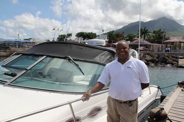 Owner of D' Perfect Life Captain John Cornelius