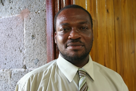 Permanent Secretary in the Premier's Ministry responsible for Human Resources Mr. Chesley Manners