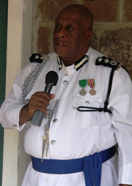 Deputy Commissioner of Police Mr. Stafford Liburd
