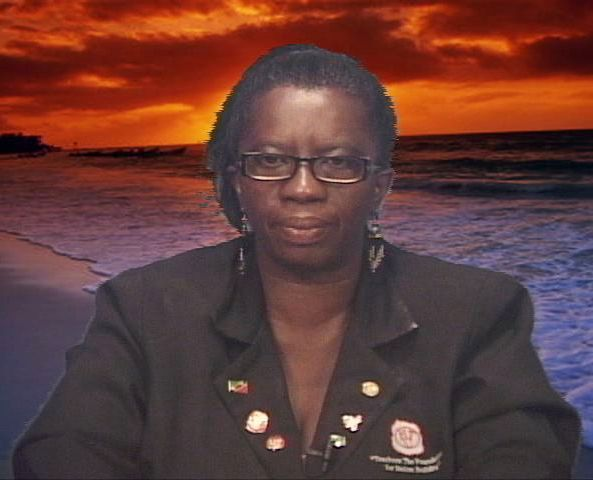 (file photo) President of the Nevis Teachers Union Mrs. Ermileta Elliott.