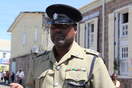 Head of Royal St. Christopher and Nevis Police Force, Task Force Nevis Division Inspector Winston Wilkinson (File Photo)