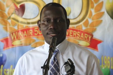 Chief Executive Officer of the Nevis Tourism Authority Mr. John Hanley