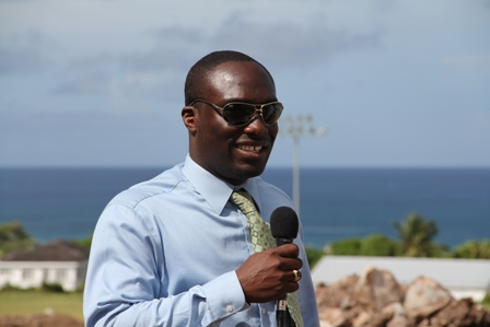 General Manager of the Nevis Housing and Land Development Corporation Mr. Eustace Nisbett
