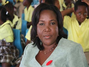 Principal Education Officer, Mrs.Lornette Queeley Connor