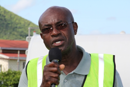 General Manager of the Nevis Air and Seaports Authority Mr. Spencer Hanley