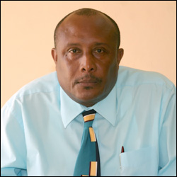 Mr. Carl Williams, Assistant Secretary in the Ministry of Tourism