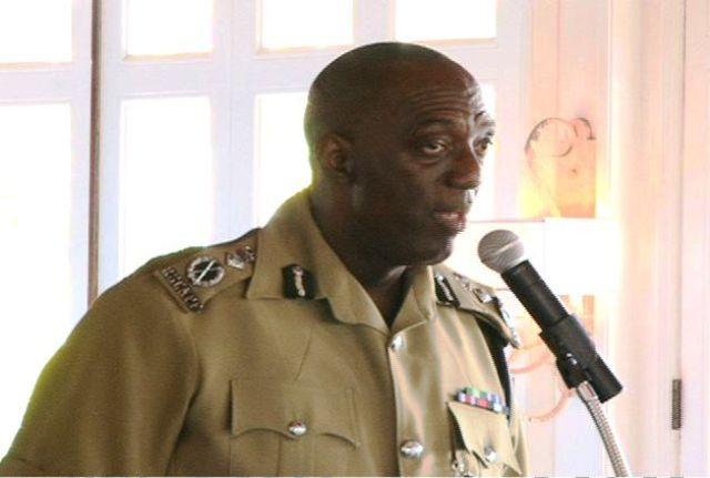 Commissioner of Police for the Royal St. Christopher and Nevis Police Force Mr. Celvin G. Walwyn