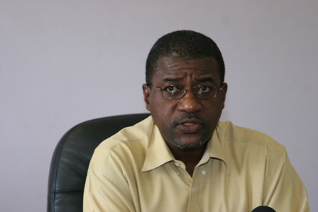 Chief medical Health Officer in St. Kitts and Nevis Dr. Patrick Martin (File Photo)