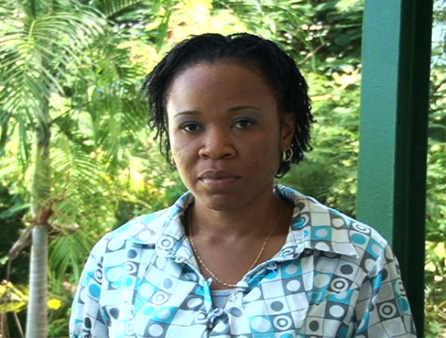Counsellor at the Gender Affairs Division of the Department of Social Services Ms. Ivorcia Hanley