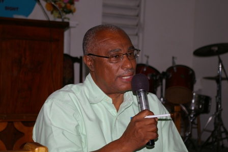Premier of Nevis, Hon.Joseph Parry (File photo)