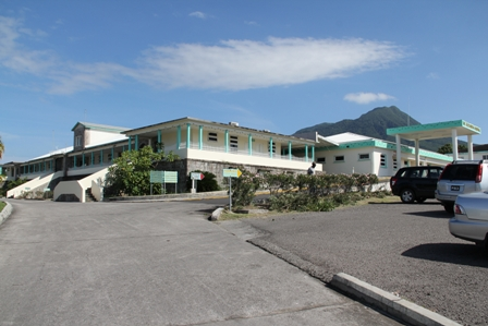 Alexandra Hospital on Government Road in Nevis