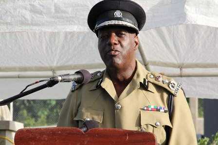 Police Commissioner of the Royal St. Christopher and Nevis Police Force Mr. Celvin G. Walwyn