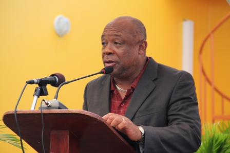 Minister of Social Development in the Nevis Island Administration Hon. Hensley Daniel