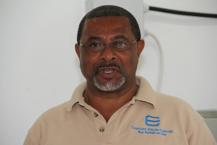 General Manager of the Nevis Water Department Mr. George Morris