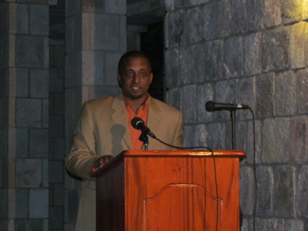 President of the St. Kitts and Nevis Tourism Association Mr. Nick Menon