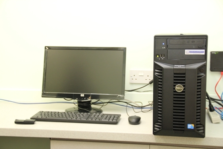 More of the equipment from the Social security Board at the Alexandra Hospital's Radiology Department