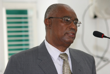 Premier of Nevis and Minister of Finance, the Hon. Joseph Parry