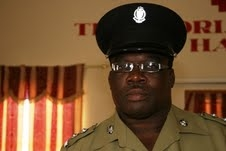 Supt. of Police in Nevis, Mr. Hilroy Brandy