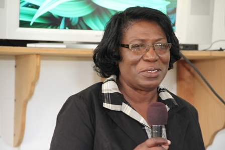 Education Officer for Special Education Ministry of Education St. Kitts Ms. Clarice Cotton