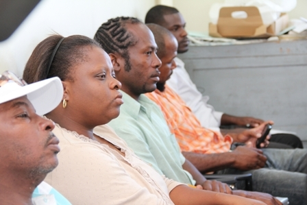 More participants at the two-day workshop on Fisheries Quality Control in Nevis