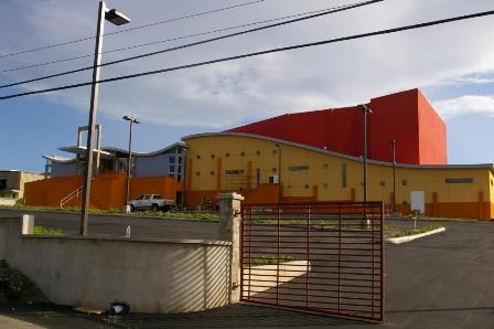 New Performing Arts Center in Nevis