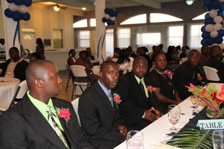 The other nominees for the Constable of the Year Award in the Nevis Police Division before the winner was revealed
