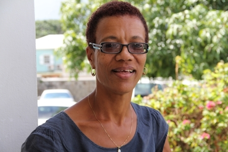 Training Manager in the Human Resource Department, Premiers Ministry in the Nevis Island Administration Ms. Isabel Byron