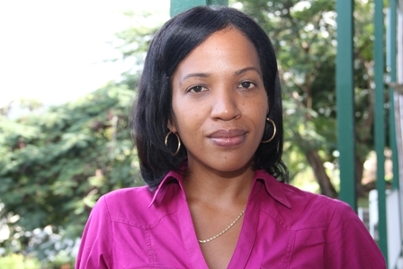 Health Planner in the Ministry of Health on Nevis Mrs. Nicole Slack Liburd