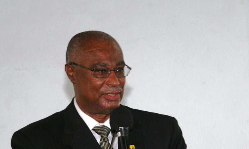 Premier of Nevis, Hon. Joseph Parry (Photo by Peter Ngunjiri)