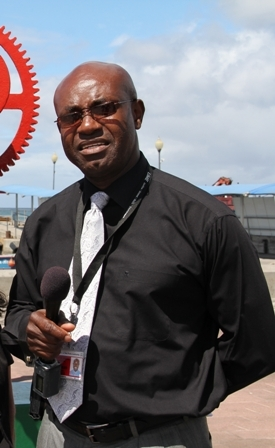 General Manager of the Nevis Air and Sea Ports Authority Mr. Spencer Hanley
