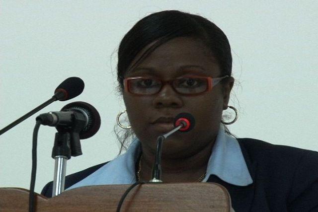 Branch Manager of Caribbean Communications (Nevis) Ltd. Mrs. Trecia Daniel