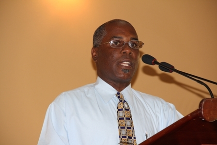 Permanent Secretary in the Ministry of Social Development Mr. Alsted Pemberton