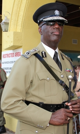 Commissioner of Police in St. Kitts and Nevis Mr. Celvin G. Walwyn