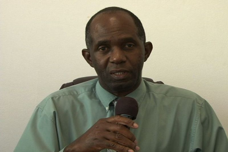 Permanent secretary in the Ministry of Trade Industry, Consumer Affairs, Import and Export Control Mr. Dwight Morton
