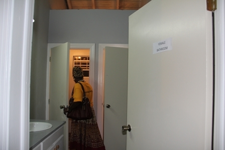 Female washrooms on the first floor of the new Jessups Community Centre