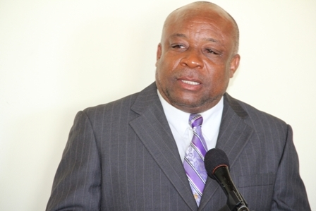 Minister of Health in the Nevis Island Administration Hon. Hensley Daniel