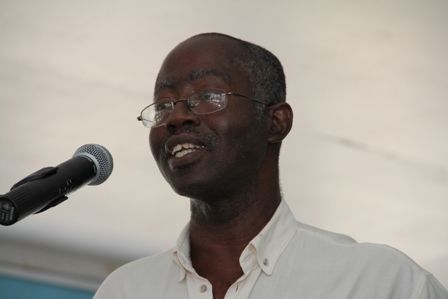 Coordinator of Science and Technology in the Department of Education on Nevis, Mr. Laurence Richards