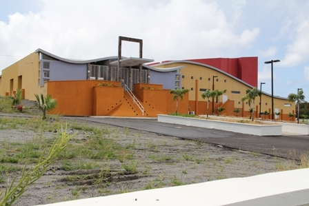 The Nevis Performing Arts Centre at Pinneys to be officially opened at the end of April 2012