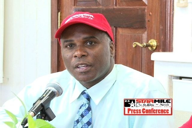 Permanent Secretary in the Ministry of Sports, Nevis Island Administration Mr. Alsted Pemberton