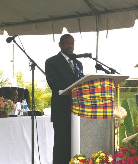 Prime Minister of St.Kitts-Nevis Rt.Hon. Dr. Denzil Douglas