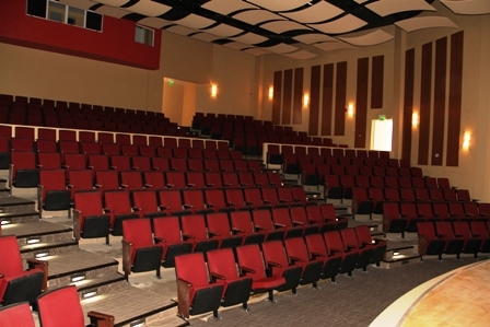Sitting capacity for 400 persons in the Centre's auditorium