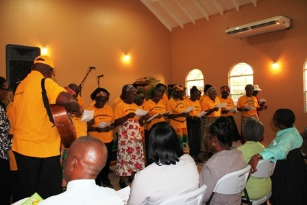 St. Thomas Recreational Group singing