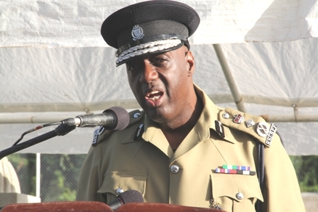 Federation's top Police Officer Commissioner Celvin G. Walwyn